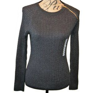 Jeanne Pierre Sweater Small Charcoal Heather